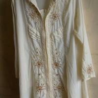 atasan wanita blouse kebaya warna putih