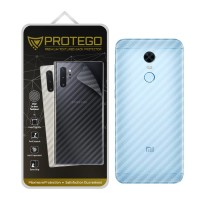 Back Protector Xiaomi Redmi 5 Plus Protego - Carbon Clear