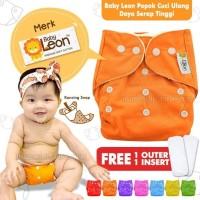 Clodi Popok + INSERT Kain Bayi Baby Cloth Diapers Diaper Murah BY-72
