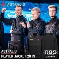 JAKET GAMING TEAM ASTRALIS BLACK - CSGO Dota2 LOL GAMERS