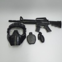 Mainan Set Senapan Topeng SWAT Tembak Tembakan Army Anak Edukatif