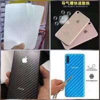 Iphone X Xs Xr Xs Max Skin Carbon Garskin Anti Gores Belakang