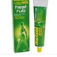 Metsal Heat Rub Aussie Cream 125 gram