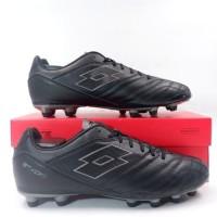 Sepatu Bola Lotto Stadio 300 II FG All Black L57748-1H8 Original BNIB