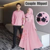 Baju Cauple Muslim/Pasangan Pria dan Wanita Adora MC 393-394