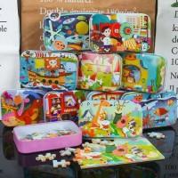 Mainan Edukatif / Puzzle Kayu / Jigsaw Puzzle Anak 60 Pcs Lucu
