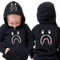 Hoddie anak bape motif shark