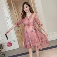 Baju Hamil Dress Hamil Cantik Murah Salem Pakaian Gaun Hamil Cewek
