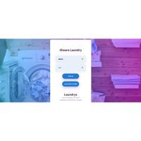 Aplikasi Laundry Berbasis Web PHP Software Laundry Source Code ORI
