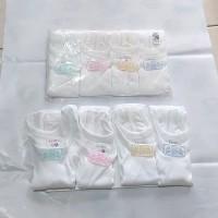Kaos Dalam Bayi New Born Libby isi 4 / Singlet Bayi / Kaos Kutang Bayi