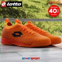 Sepatu Futsal Lotto Spark IN - Orange