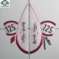 stiker striping Mio Fino sporty 125 2018 merah