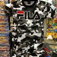 Baju Setelan Anak / Baju Anak Motif Fila Army Ukuran Anak 10 Tahun