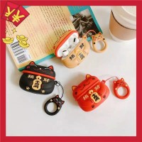 Lucky Cat Case for Apple Wireless Bluetooth Headset Airpods Pro