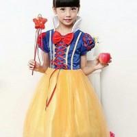 Dress baju costume kostum gaun princess disney snow white SIZE 110