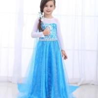 Baju frozen elsa dress costume kostum anak gaun SIZE120
