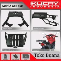 Bracket motor Kucay Supra GTR 150 dan box givi B 27 N