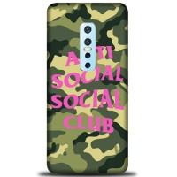 Casing Vivo V17 Pro Custom anti social social club logo camo Z4951