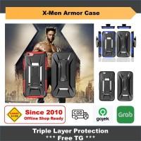 iPhone 6 / 6s Casing XMen Armor Shockproof Case