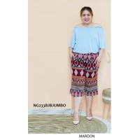 Bawahan Celana Kulot Batik Wanita Big Casual Formal Cewek Jumbo NG233