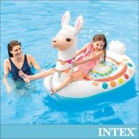Pelampung Ban Renang Floaties Cute Llama Ride-on INTEX 57564 Float