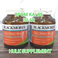 blackmores black mores calcimag 60 tabs suplemen tulang glucosamine