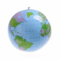 Globe Bumi Balon Plastik Tiup Untuk Belajar Edukasi Anak