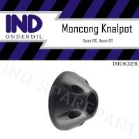 Tutup-Tameng-Cover-Pelindung Ujung-Moncong Knalpot Yamaha Xeon RC-GT
