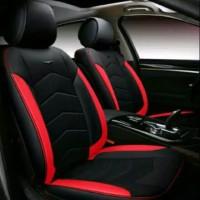 Sarung Jok Sporty Mobil Jazz/Brio - Red & Black