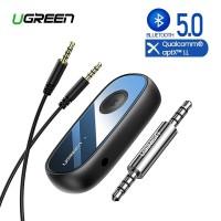UGREEN Bluetooth Receiver 5.0 aptX Style 3.5mm AUX Jack Audio Adapter