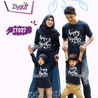 Kaos Ziyata Keluarga Kaos Muslim Family Baju Couple Baju Anak ZT027