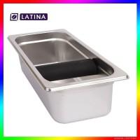 Latina Knock Box Persegi Panjang Big Bar STA-3332 Size 26x16x10H Kopi