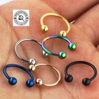 Anting Tindik Hidung Septum - Septum Ring Earrings Piercings