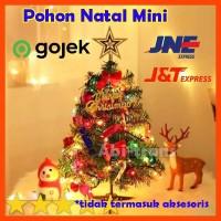 Pohon Natal Mini Murah Bahan PVC premium Bagus Termurah
