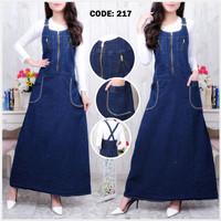 Jumpsuit Jeans/Jumpsuit Overall Dress /Dress jeans Panjang 217