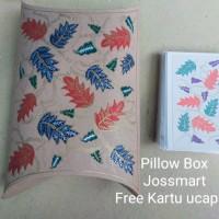 Grosir Pillow Box Kotak Kado Tempat Kado Packing Kado Batik Asli