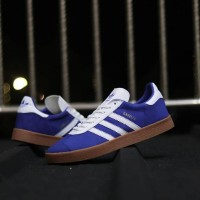 Sepatu ADIDAS GAZELLE OG Athen Blue White Gum Original Indonesia