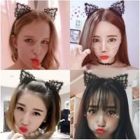 Headband Headhair Bando Perempuan Kuping Kucing