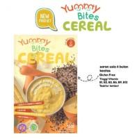 Yummy Bites Cereal Pumpkin Carrot Corn With Cheese Makanan Bubur Bayi
