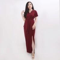 Baju Atasan Wanita Maxi Drees aira Scuba Premium best seller