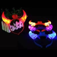 Bando Karakter LED Devil Lampu On Off