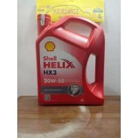 OLI SHELL HELIX HX3 20W-50 4L GALON - OLI SHELL HX3