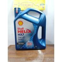 OLI SHELL HELIX HX7 PLUS 5W-40 4L GALON - OLI SHELL HELIX HX7 5W-40 4L