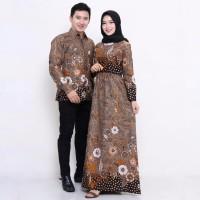 Baju Batik Couple / Baju Muslim Wanita Terbaru 2019 2511