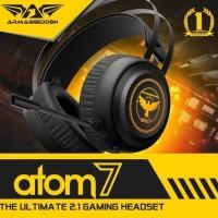 Headset Gaming Armageddon Atom 7