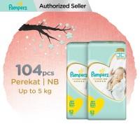 Pampers Popok Bayi Perekat Premium Care NB-52 (up to 5 kg) - isi 2
