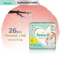 Pampers Popok Bayi Perekat Premium Care NB-26 (up to 5 kg)