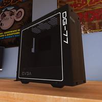 EVGA DG-77 Matte Black - RGB ATX Mid-Tower Tempered Glass Gaming Case
