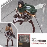Figma Mikasa Attack On Titan Action Figure
