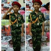 baju kostum TNI KOPASUS anak baju profesi anak baju setelan karnaval